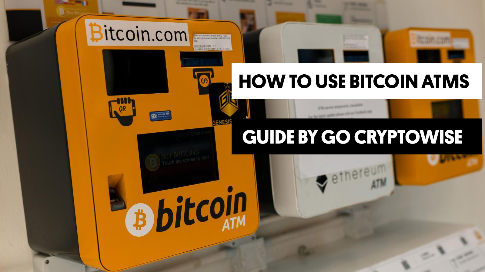How To Buy Bitcoin From a Bitcoin ATM