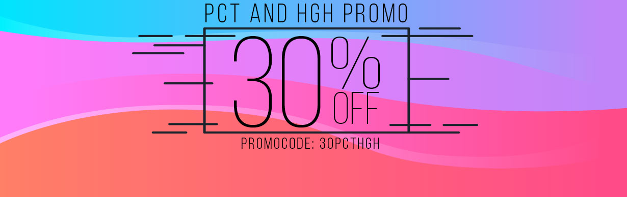 PCT and HGH promo